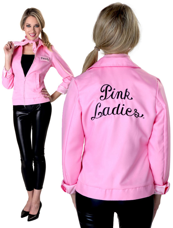 back pink ladies jacket