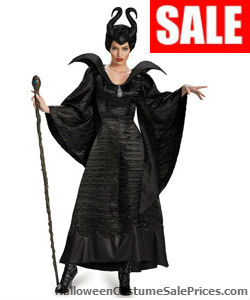 Deluxe Maleficent Christening Black Gown