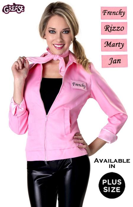 Frenchy Pink Ladies Jacket