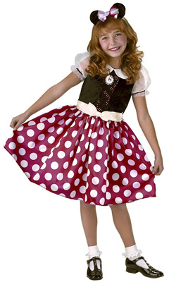 Girl's Minnie Mouse Costume