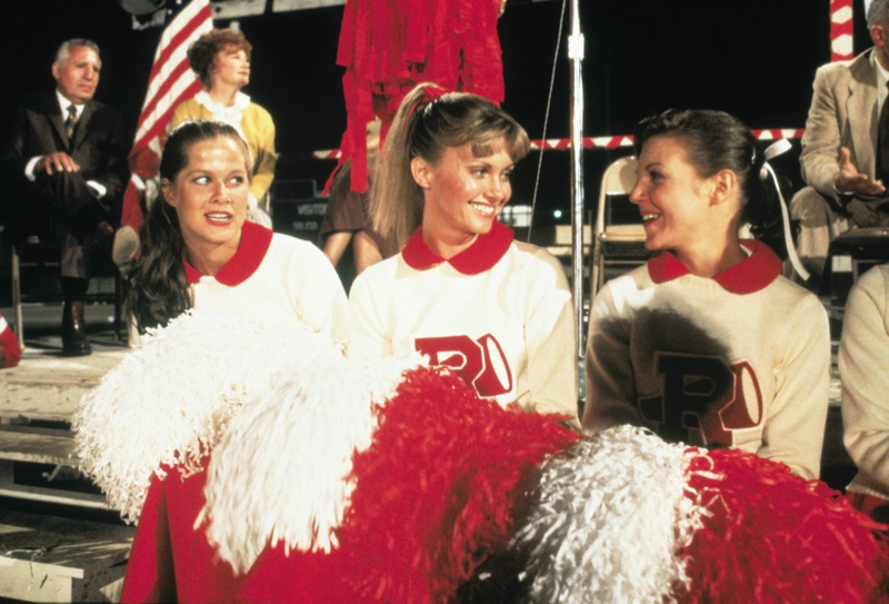 Olivia Newton John Sandy Cheerleader Grease