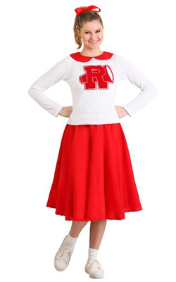 Grease Cheerleader Costume Rydell High School