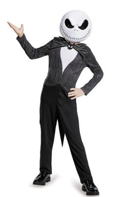 Kid Jack Skellington Costume