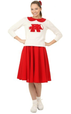 Plus Size Cheerleader Costume from Grease