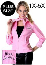 Plus Size Pink Lady Jacket