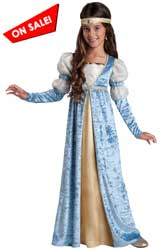 Renaissance girl dress  sc 1 st  Christmas Costumes & Renaissance Costumes for Kids u2013 Todayu0027s Best Costume Sale Prices