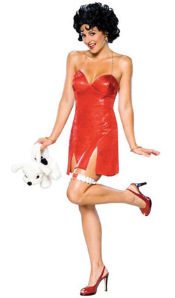 Sexy Red Betty Boop Dress